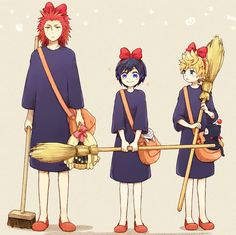 This crossover is perfect! OMG, Axel's face!! XD <-------- yas! Kiki's delivery service and kingdom hearts! My two favorite things