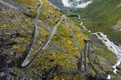 Scandinavian Landscapes by Peter Boel, via Behance