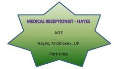 NEW JOB VACANCIES FROM AGE121...FIND MORE AT WWW.AGE121.COM/RECRUITMENT :) New Job Vacancies, Medical Receptionist