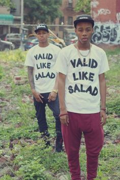 Valid Like Salad So this is supposed to mean cool or true (as in valid statement), I guesss.