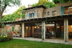 Moron Saad | Casas | Las Lomas Hacienda Style Homes, Spanish Style Homes, Cafe Design, House Design, Storey Homes, Aesthetic Room Decor, Outdoor Areas, House Colors, Home Deco