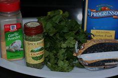 black beans with cilantro recipe