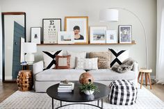 Living Room Refresh, and A Lighting Hack!