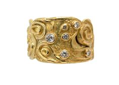 Products – Page 12 – Elizabeth Gage elizabeth-gage.com600 × 434Search by image An 18ct wire and granulation yellow gold section ring decorated with diamonds. The ring is