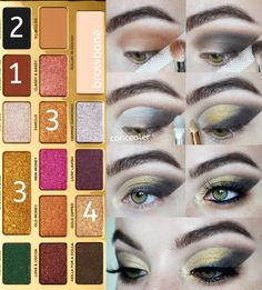 Comment a 🍫🍫🍫 emoji if you would wear this look! Follow along this golden smokey eye using the @toofaced chocolate gold palette. . .… Eyeshadow Looks, Eyeshadow Makeup, Eyeshadows, Chocolate Bar Palette Looks, Golden Smokey Eye, Too Faced Palette, New Makeup Ideas, Chocolate Gold, Gold Palette
