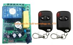 13.33$  Watch now - http://ali4mo.shopchina.info/go.php?t=32703918831 - AC 220V 2 Channel Wireless Remote Control Switch 1 pcs receiver + 2 pcs cat's eye transmitter & Smart home + Simple operation 13.33$ #buyonlinewebsite
