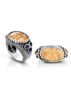 Bronze miniature ring