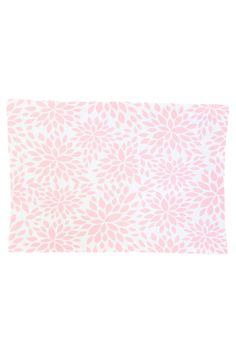 dahlia blush pink printed cloth placemats | hen house linens #eastertable