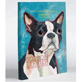 Found it at Wayfair - Doggy Decor Boston Terrier 1 Graphic Art on Canvas