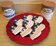 Get some sweet treats for the patriotic pooches attending your Memorial Day cookout. Fido Park Avenue will be closed this Monday, so pick up a few cookies while you still can!