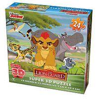 Disney Junior The Lion Guard Super 3D Puzzle - 24 Piece