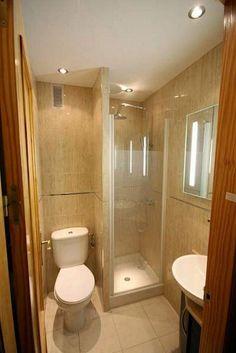 33+ Smart Solutions To Design a Tiny Bathroom Shower Ideas #bathroom #bathroomideas #bathroomdesign