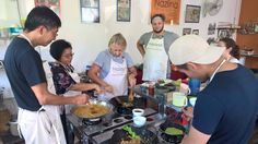 Don't shy away from getting involved. Cooking Classes