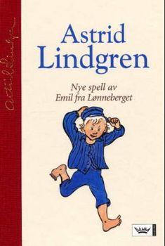 """""""Nye spell av Emil fra Lønneberget"""" av Astrid Lindgren Nye, Childhood Memories, Spelling, Family Guy, Reading, Google, Books, Fictional Characters, Astrid Lindgren"""