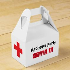 """""""Bachelor Social gathering"""" Survival Package Field.  See more at the image link"""