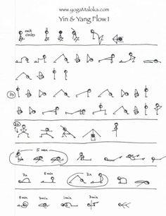 Yin & Yang yoga sequence