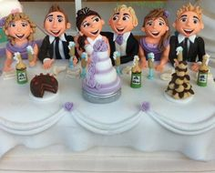 Cake Gallery - View our latest cakes - Richard's Cakes Manchester Choco Moist Cake, Moist Cakes, Gorgeous Cakes, Amazing Cakes, Fondant Figures, Clay Figures, Love Cake Topper, Muffins, Decadent Cakes