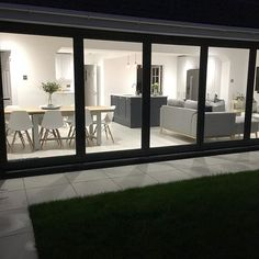 Ideas Exterior Bungalow Renovation Kitchen Extensions For 2019 Open Plan Kitchen Dining Living, Open Plan Kitchen Diner, Open Plan Living, House Extension Plans, House Extension Design, House Design, Extension Ideas, Rear Extension, Bungalow Exterior