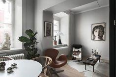 Luxurious Studio Apartment With Black Kitchen (Gravity Home) Studio Loft Apartments, Studio Apartment, Interior Styling, Interior Design, Gravity Home, Black Kitchens, Scandinavian Design, Architecture Design, Lounge