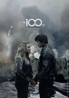 Bellarke (Bellamy Blake and Clarke Griffin) The 100 Bellarke, Orphan Black, Series Movies, Tv Series, The 100 Serie, Bellamy The 100, The 100 Poster, The 100 Show, Bob Morley