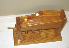 Double-Fall Marble Game - The Dale Maley Family Web Site