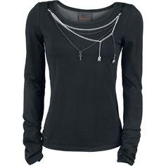 Bracelet Shirt - Manga larga Mujer por Queen Of Darkness - Número Artículo: 272044 - desde 39,99 € - http://emp.me/9yo