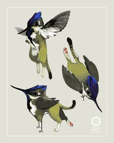 """""""Tiny Griffin! The first in a mini series of mini mythological creatures."""""""