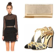 """""""Date Night"""" by richclubgirl ❤ liked on Polyvore featuring Jimmy Choo"""