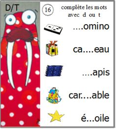 atelier confusions sons : écrire des mots Educational Activities For Toddlers, Montessori Activities, French Education, File Folder Games, Reading Games, Learning The Alphabet, Teaching French, Learning Through Play, Learning Tools