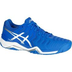 GROUPE 7 Sports de raquette - ASICS GEL-RESOLUTION 7 BLEU ASICS - Tennis