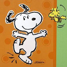 Snoopy- Do a hop, skip, and a jump....