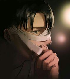 Attack on Titan - Levi Ackerman Levi Mikasa, Eren E Levi, Armin, Ereri, Levihan, Fanarts Anime, Anime Manga, Anime Guys, Attack On Titan Fanart