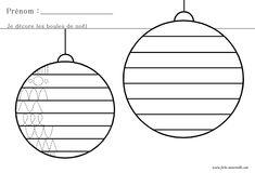 Graphisme de Noël en maternelle
