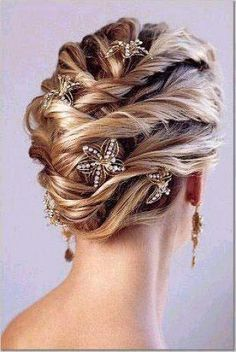 loose and twisty updo