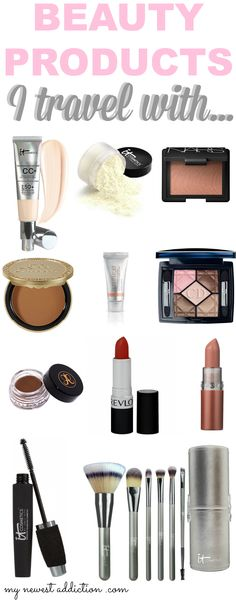 Favorite Travel Beauty Products - My Newest Addiction Beauty Blog