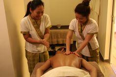 Lo mejor del masaje, en un masaje realizado por dos masajistas experimentadas