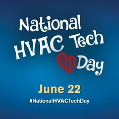 Please share to help us celebrate HVAC on June 22!