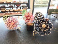 新年最初の水引髪飾り!! Best Mothers Day Gifts, Gifts For Mom, Weaving Designs, Weaving Art, Valentines, Pendant, Wire, Gift Ideas, Accessories