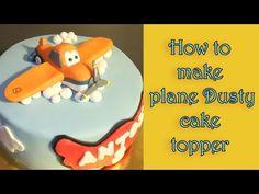 How to make a plane Dusty fondant figure tutorial / Jak zrobić figurkę samolotu Dusty - YouTube