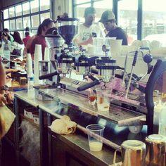 New Peregrine espresso bar at Union Market