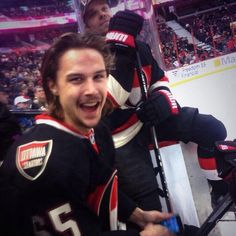 Erik Karlsson being adorable