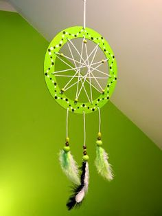 Zažeňte špatné sny. Podle amerických indiánů  se špatné sny zachytí v síti lapače a ráno jsou zničeny denním světlem.  Ty dobré sklouznou ...