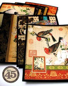 Bird Song 'Karate Belt' Cards - Nichola Battilana
