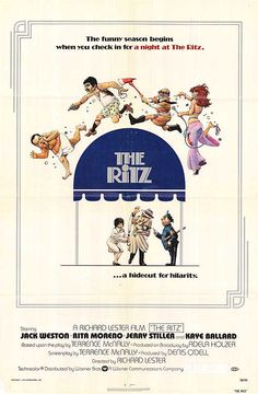 The Ritz directed by Richard Lester Streaming Movies, Hd Movies, Movie Film, Movies Online, John Ratzenberger, Richard Lester, Bessie Love, Rita Moreno, Watch Free Full Movies