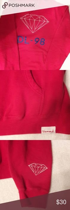 Diamond Hoodie Diamond Hoodie Logo only the front of the hoodie/one of the sleeves. In great condition! Diamond Supply Co. Sweaters