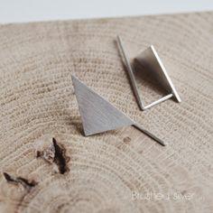 Les Geometriques Nro 8 Earrings \ AgJc