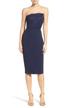 Main Image - Misha Collection Sanzana Strapless Dress