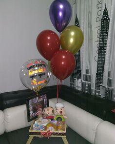 Cake, Desserts, Ideas, Food, Carton Box, Creative Crafts, Balloons, Creativity, Pie Cake