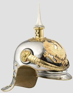 German; 2nd(Pommeranian) Cuirassier Regiment Königin(Queens's). Officer's Helmet. Provenance to the Crown Prince Wilhelm, who was a supernumerary colonel in the regiment. Home Depot Pasewalk. II Army Corps