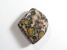 Leopard Skin Jasper Cabochon, designer cabochon, gemstone cabochons, flat back cabochons, natural stone cabochons (12667)